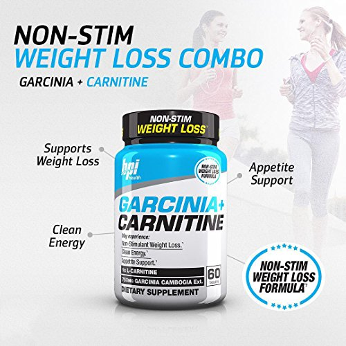 BPI Sports Garcinia + Carnitine, 60 Count
