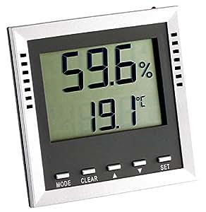 Thermo higrómetro de climática Guard TFA 30.5010.k incl.ISO Certificado de calibración