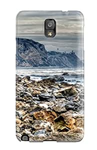 Ultra Slim Fit Hard Case Cover Specially Made For Galaxy Note 3- Dark Cliffs