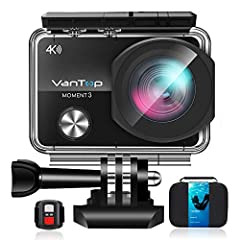 PACKING LIST1 X VanTop Moment 3 Action Camera1 X 32G Class 10 Micro SD Card1 X 2.4GHz Wireless Remote1 X Carrying Case2 X Batteries1 X Waterproof Housing1 X Long Connector1 X Short Connector 11 X Short Connector 2 1 X Surface J-Hook Buckle1 X...