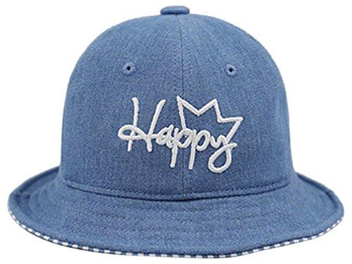 La Vogue Newborn Baby Denim Bucket Caps Floppy Sun Hat Fisherman Hat Cap - Eye Vogue Wear