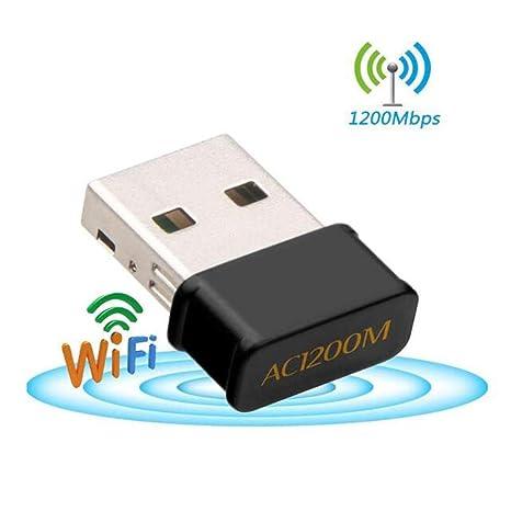 Adaptador WiFi USB 1200 Mbps, 300 Mbps, 867 Mbps, Mini WiFi ...