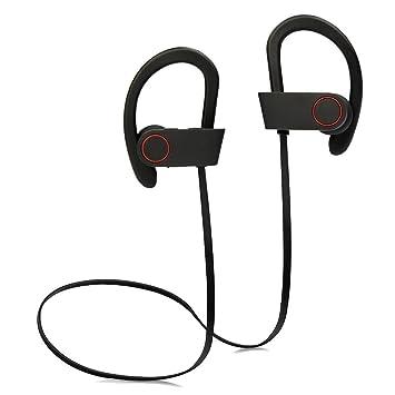 Agapo Auriculares Bluetooth V4.1 inalámbricos Auriculares de Bluetooth Auricular Deportivos y de cancelación de ruido con micrófono auricular manos libres ...