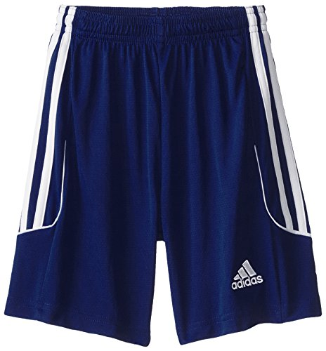 (adidas Performance Squadra 13 Shorts, Youth XX-Small, Dark Blue/White)