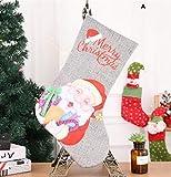 Sevenpring Creative Theme Decorations Christmas Stocking Decoration Christmas Supplies Hotel Bar Party Shopping Mall Pendant(A)