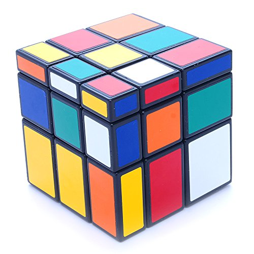 Mirror Block (3x3x3 Black Two Solution Horror Mirror Bump Cube Twisty Puzzle 3x3)