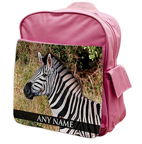 Personalisierbar Zebra Ii Animal Pink Zaino Per Zaino 329