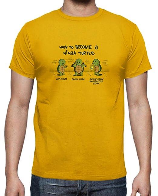 latostadora - Camiseta Ser una Tortuga Ninja para Hombre ...