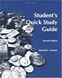 Student's Quick Study Guide for Engineering Economic Analysis, Newnan, Donald G., 1576450503