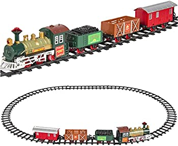 Best Choice Products Kids Battery Operated Railway Train Set