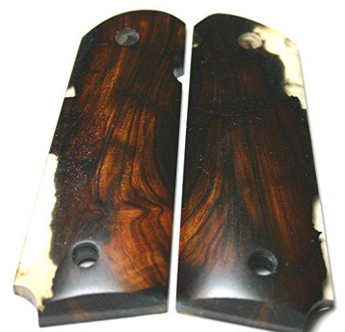 FIT 1911 Gun Grips RESIN CAST Arizona DESERT IRONWOOD Gov Full Size Factory Style Custom
