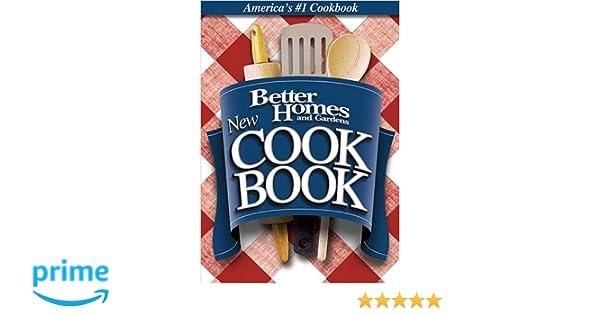 New Cook Book (Better Homes and Gardens Test Kitchen): Amazon.es: Better Homes & Gardens: Libros en idiomas extranjeros