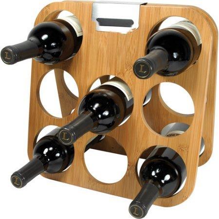Rabbit Bamboo Wine Rack