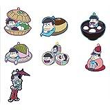 おそ松さん トレーディングラバーストラップ 和菓子ver. BOX商品 1BOX = 7個入り、全7種類