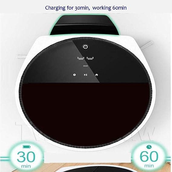 NewFay Máquina de Barrido Inteligente de navegación autónoma, autollamada Robot de Barrido de Recarga automática, función de Barrido del Aspirador ...