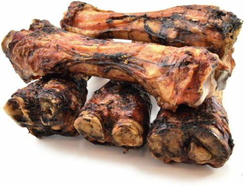ValueBone USA Smoked Beef Shin Bones, All Natural Dog Chews, 5 Count