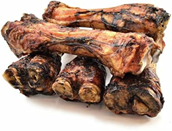 ValueBone USA Smoked Beef Shin Bones, All Natural Dog Chews