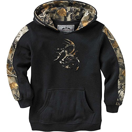 Legendary Whitetails Youth Outfitter Hoodie Onyx ()