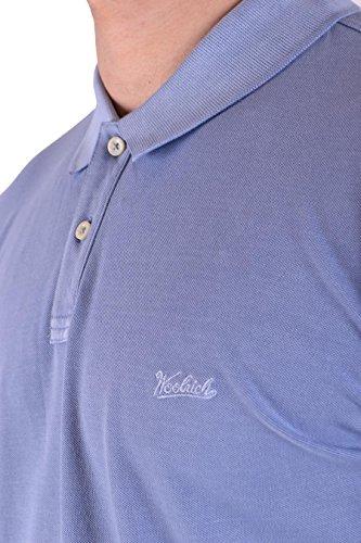 Cotone Woolrich Polo Wopol515pg023895 Uomo Azzurro Azq4xHTz