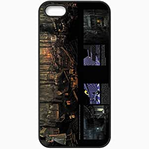 Personalized iPhone 5 5S Cell phone Case/Cover Skin Alice Madness Returns Black by lolosakes