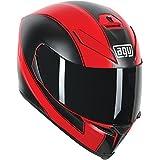 AGV K-5 Enlace Helmet (Matte Red/Black, Medium/Large)