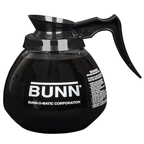 Bunn 42400.0024 64 oz. Glass Decanter with Black Handle by BUNN