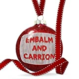Christmas Decoration Embalm and Carrion Halloween Bloody Wall Ornament
