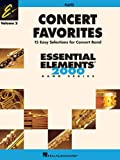 img - for Concert Favorites Vol. 2 - Flute: Essential Elements 2000 Band Series book / textbook / text book