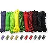 Kyпить Paracord Planet 550lb Type III Paracord Combo Crafting Kits with Buckles (ZOMBIE) на Amazon.com