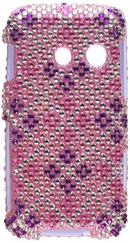 (Asmyna LGLN510HPCDM184NP Dazzling Diamante Bling Case for LG Rumor Touch/Banter Touch - 1 Pack - Retail Packaging - Plaid Hot)