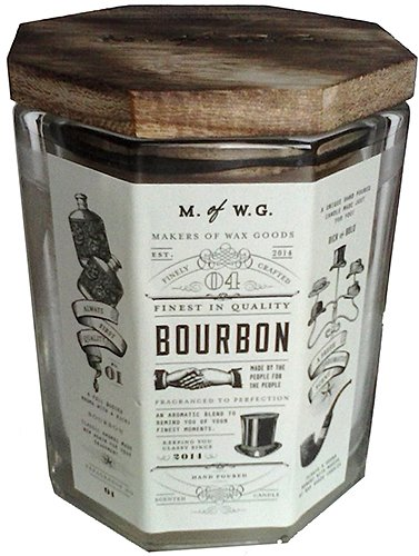 - Makers of Wax Goods Rich & Bold #4 Bourbon Wood-Wick 11.4 Oz. Candle In Glass