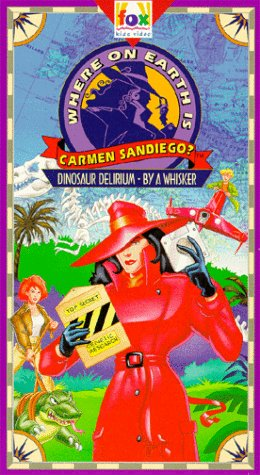 Where on Earth is Carmen Sandiego? - Dinosaur Delirium/By A Whisker [VHS]