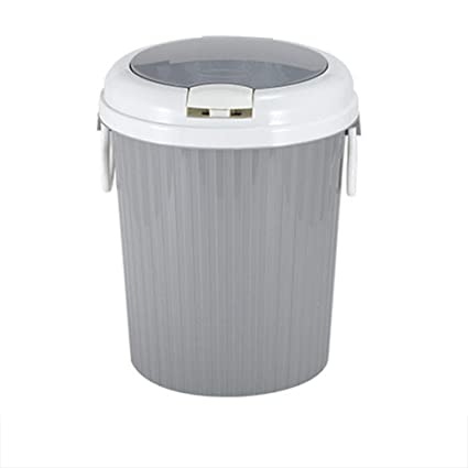 Amazon.com: ETbotu Trash Can Home Portable Garbage Bin Swing ...