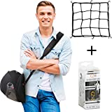 Motorcycle Helmet Carrier Strap - Hands-Free, Motorbike Accessory. Convenient, Lightweight and Comfortable Alternative to Helmet Bag. A Perfect Biker Gift For Men and Women. By EZ-GO (black)