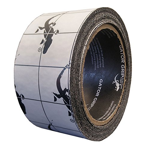 Gator Grip  : SG3102B15 Premium Grade High Traction Non Slip 60 Grit Indoor Outdoor Anti-Slip Tape, 2 Inch x 15 Foot, Black