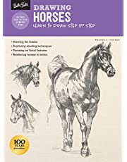 Drawing: Horses: Learn to draw step by step