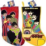 The Beatles Collectors Memorabilia: Yellow Submarine Christmas Stockings Set of 2