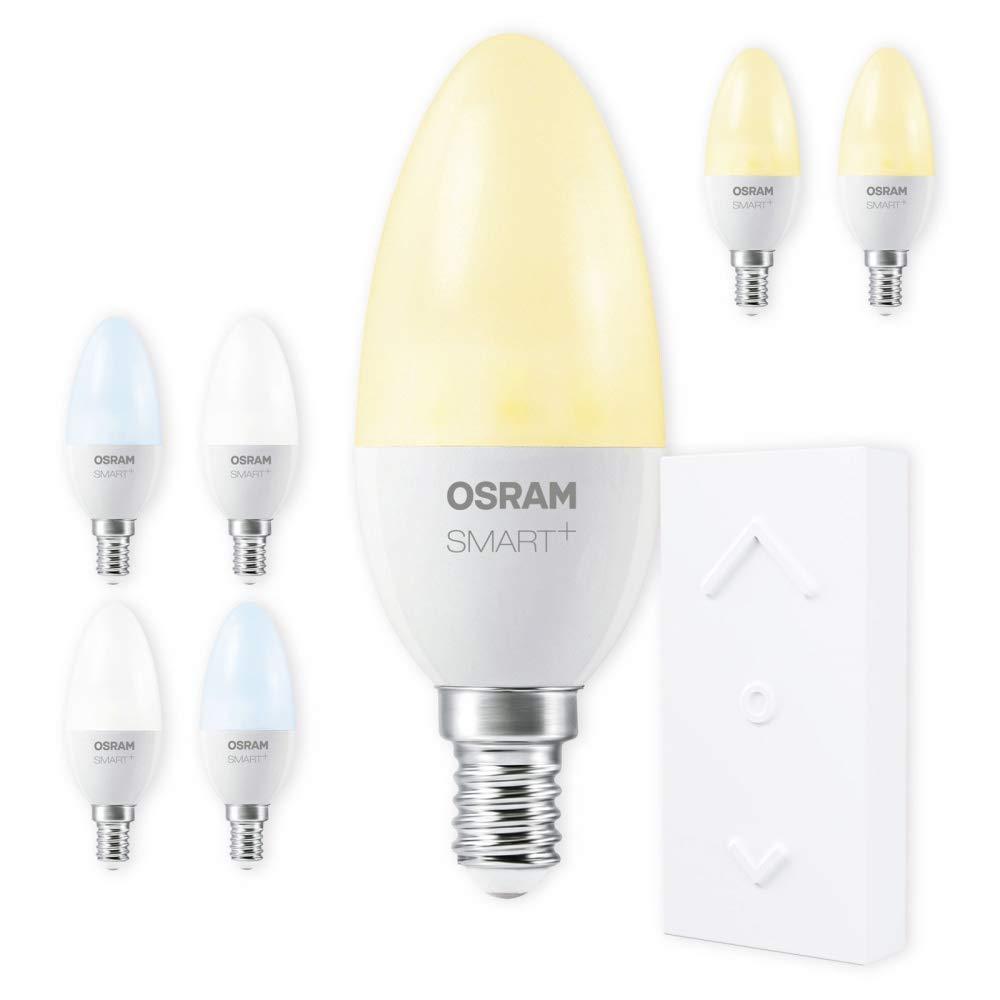 OSRAM SMART+ SWITCH KIT E14 Tunable Weiß dimmbar LED + Fernbedienung weiß Auswahl 7er Set