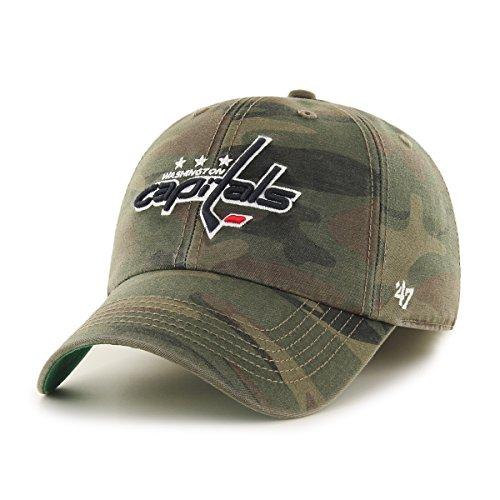 Washington Capitals Snap (NHL Washington Capitals Harlan Franchise Fitted Hat, XX-Large, Sandalwood)