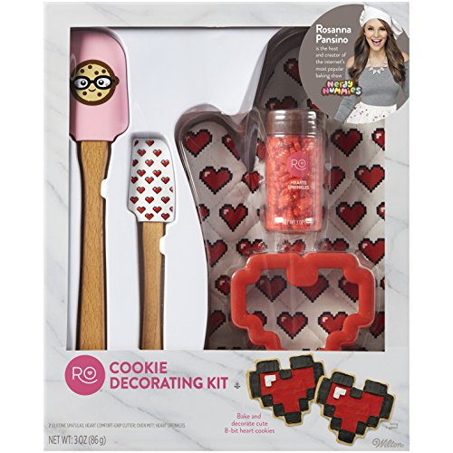 Rosanna Pansino Cookie Decorating Kit by - Bit Heart
