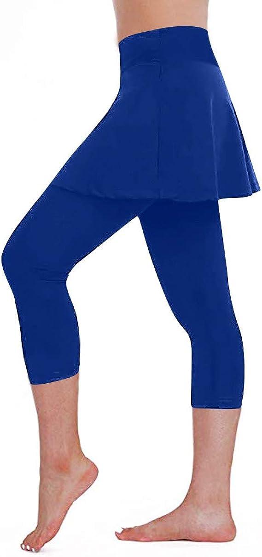 Lunule Mujer Pantalones Deportivos de Tenis con Falda Push up ...