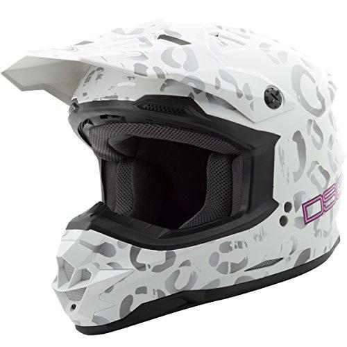 GMAX Unisex-Adult Full-face Style 2769314 Dsg Gm76S Helmet Multi Leopard s Small