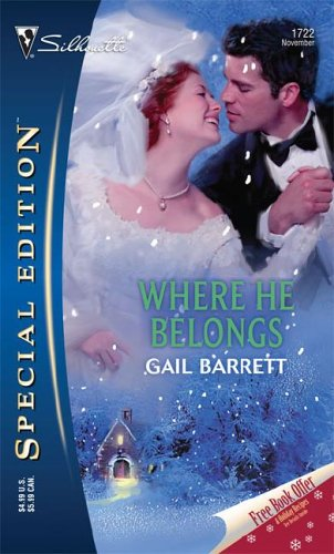 book cover of Where He Belongs
