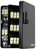 KeyGuard SL-9122-E Electronic Key Cabinet With Black Combi-Cam-E - 122 Hook