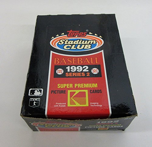1992 Topps Stadium Club Baseball Series 2 Box ()