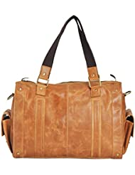 Leather Duffle Holdall Handcrafted Bag For Men Women 20 Travel Gym Weekender Bag
