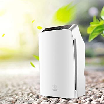 Purificador de aire de control remoto 5-veces filtración HEPA eliminación de neblina PM 2.5 purificador para la esterilización de humo de formaldehído: Amazon.es: Salud y cuidado personal