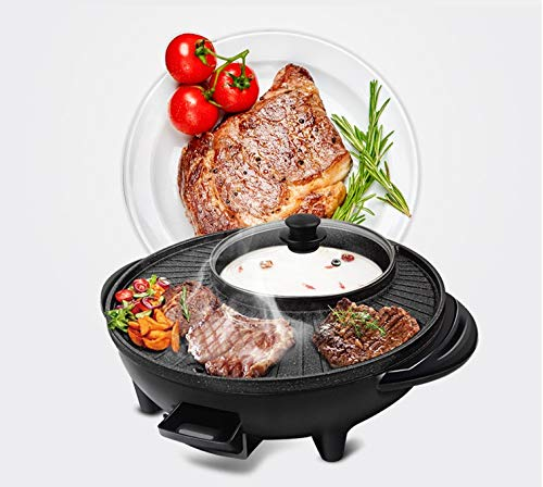 Maifan Stone Korean Hotpot with Grill by BXB | Multi-Function Non-Stick Bottom Electric Cooker | Shabu Shabu and Grill Multi-Cooker by SHOPBXB (Image #3)
