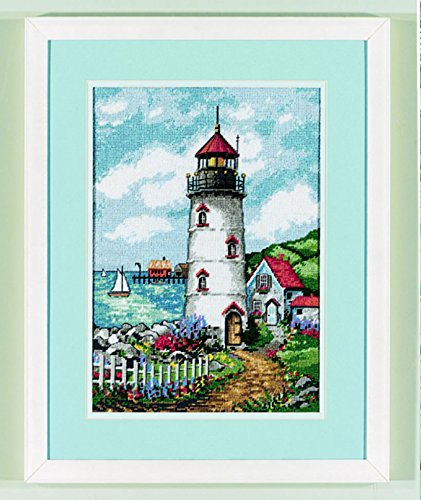 Cove Needlepoint (Dimensions Needlepoint Quilt Kit Lighthouse Cove)