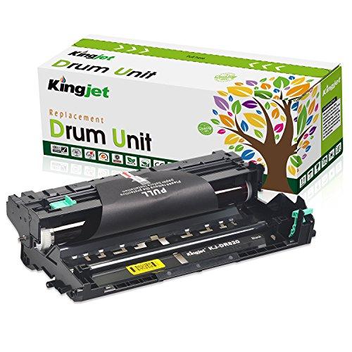 Kingjet Compatible Drum Unit Replacement for DR820, Work with HL-L6200DW HL-L5200DW HL-L5100DN MFC-L5900DW MFC-L5700DW MFC-L5800DW MFC-L6800DW 1 Pack (Black)